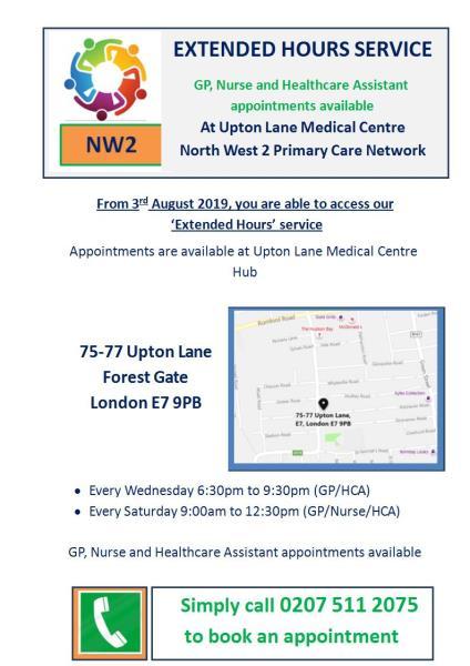 Upton Lane Medical Centre